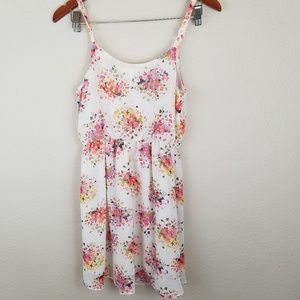 Floral Lush Slip Dress with Adjustable Straps